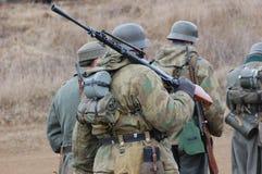 niemieccy oddział wojskowy Fotografia Royalty Free