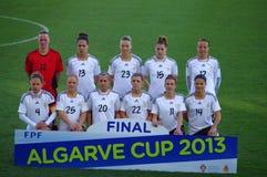 Niemiecka krajowa drużyna futbolowa Obrazy Royalty Free