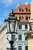 niemiecka latarniowa street Fotografia Royalty Free