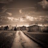 niemiecka wioski fotografia stock