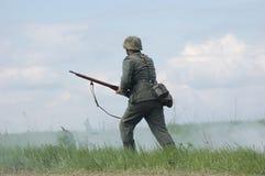 niemiecki żołnierz Zdjęcia Stock
