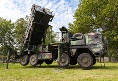 Niemiecki antiaircraftrocketsystem patriota Zdjęcie Royalty Free