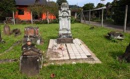 Niemiecki brazylijski cmentarz fotografia stock