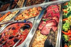Niemiecki bufeta gość restauracji Zdjęcia Stock