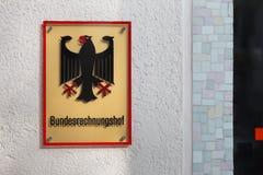 Niemiecki bundesrechnungshof w Bonn Germany fotografia royalty free