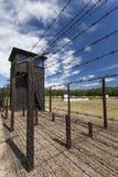 Niemiecki eksterminacja obóz w Polska zdjęcia stock