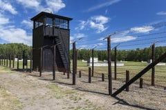 Niemiecki eksterminacja obóz w Polska obraz stock