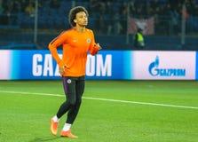 Niemiecki fachowy futbolista Leroy Zdrowy fotografia stock