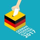 Niemiecki Federacyjny wybory 2017 Fotografia Stock