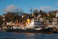 Niemiecki icebreaker Stettin obraz stock