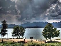 niemiecki jezioro Fotografia Royalty Free
