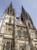 Niemiecki katedralny steeple Obrazy Stock