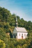 Niemiecki kościół W Ahrbruck, okręg Ahrweiler Obraz Royalty Free