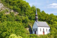 Niemiecki kościół W Ahrbruck, okręg Ahrweiler, Niemcy Fotografia Royalty Free