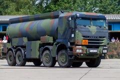 Niemiecki militarny Iveco 8x8 tankowiec Obraz Stock
