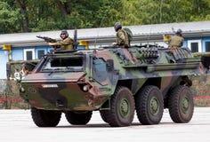 Niemiecki militarny transporter opancerzony, Fuchs Obrazy Royalty Free