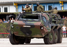Niemiecki militarny transporter opancerzony, Fuchs Fotografia Royalty Free