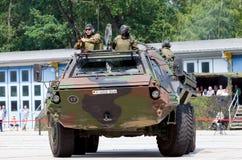 Niemiecki militarny transporter opancerzony, Fuchs Obrazy Stock