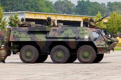 Niemiecki militarny transporter opancerzony, Fuchs Obraz Stock