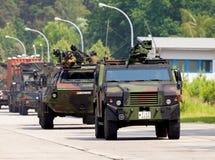 Niemiecki militarny wojsko konwój Obrazy Royalty Free