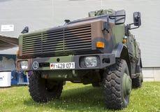 Niemiecki opancerzony militarny piechoty ruchliwości pojazd, ATF dingo Obrazy Royalty Free