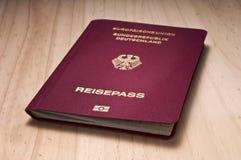 niemiecki paszport obrazy stock