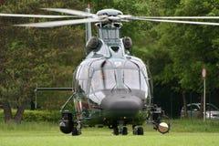 Niemiecki patrolu granicznego EC-155 helikopter Obrazy Stock