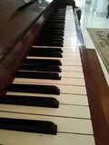 Niemiecki pionowo pianino obrazy royalty free