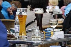Niemiecki piwo Zdjęcia Royalty Free