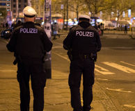 niemiecki policja Zdjęcie Stock
