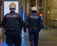 niemiecki policja Zdjęcia Stock