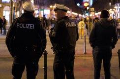 niemiecki policja Obrazy Stock