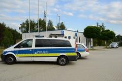 niemiecki policja Obraz Royalty Free