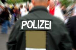 niemiecki policjant Fotografia Stock