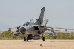 Niemiecki siły powietrzne tornada myśliwiec Zdjęcia Stock