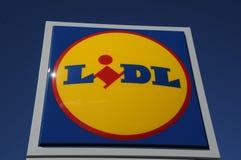NIEMIECKI sklepu spożywczego łańcuch LIDL Obrazy Stock