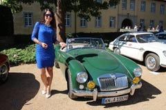 Niemiecki TV podawca Moderatorin Julia Bauer Zdjęcia Royalty Free