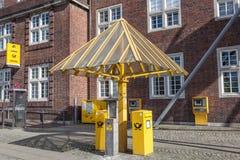 Niemiecki usługi pocztowe Zdjęcie Royalty Free