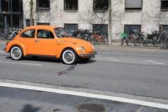 NIEMIECKI VW klasyka samochód Zdjęcie Royalty Free