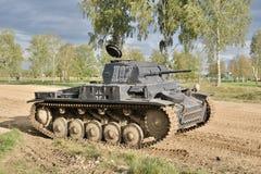 Niemiecki zbiornik 2nd wojna światowa Obraz Stock