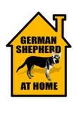 Niemieckiej bacy znak royalty ilustracja