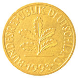 10 niemieckiej oceny fenigu moneta Zdjęcia Stock