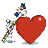 Niemożliwa Miłość Obraz Stock