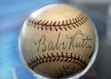 Niemowlęcia Ruth baseball. Zdjęcia Stock