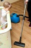 niemowlak czysty próżnia Zdjęcie Royalty Free