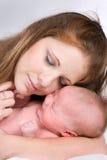 niemowlak matka zdjęcia stock