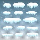 Śnieżna nakrętka Obraz Royalty Free
