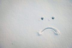 Nienawidzę śnieg Obrazy Stock