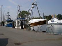 Niendorf harbor. Niendorf, Germany 2008 Royalty Free Stock Photography