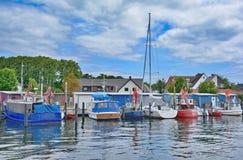 Niendorf Timmendorfer tråd, baltiskt hav, Tyskland Arkivfoton